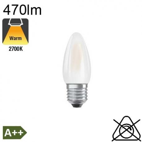 FLAMME LED E27 4W 470lm