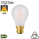 Standard Dépolie LED B22 1521lm 2700K Dimmable