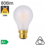 Standard Dépolie LED B22 806lm 2700K Dimmable