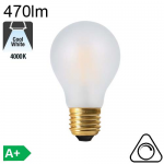 Standard Dépolie LED E27 470lm 4000K Dimmable