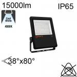 Projecteur Asymétrique Noir Led IP65 150W 15000lm 4000K