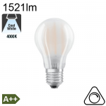 Standard Dépolie LED E27 1521lm 4000K Dimmable