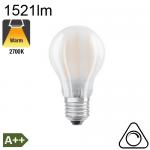 Standard Dépolie LED E27 1521lm 2700K Dimmable
