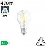 Sphérique LED E27 470lm 4000K Dimmable
