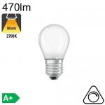 Sphérique Dépolie LED E27 470lm 2700K Dimmable