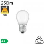 Sphérique Dépolie LED E27 250lm 2700K Dimmable