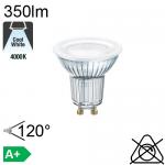 Spot LED GU10 350lm 4000K 120°