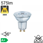 Spot LED GU10 575lm 3000K 36°