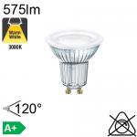 GU10 LED TF Ø50 3.2W 35° 450cd 230lm 2700K 15000h NG