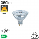 MR16 LED GU5.3 350lm 2700K 36° Dimmable