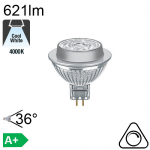 MR16 LED GU5.3 621lm 4000K 36° Dimmable