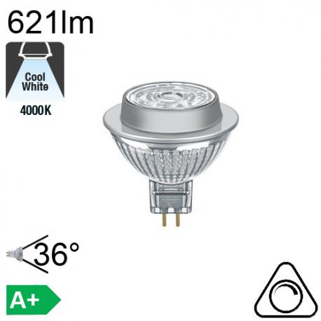 LED MR16 GU5.3 12V 8.2W 620lm 2700K ADV 1430cd 620lm