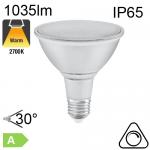 Spot PAR38 LED IP65 E27 1035lm 30° 2700K Dimmable