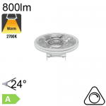 AR111 LED G53 800lm 24° 2700K Dimmable