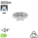 AR111 LED G53 800lm 24° 4000K Dimmable