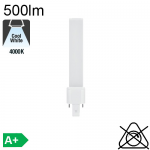 S LED G23 500lm 4000K