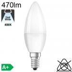 Flamme LED E14 470lm 4000K