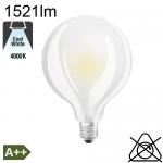 Globe Dépolie LED Ø95 E27 1521lm 4000K