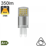G9 LED 350lm 2700K Dimmable