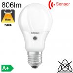 Standard Sensor Crépusculaire LED E27 806lm 2700K