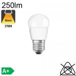 Sphérique LED E27 250lm 2700K