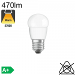 Sphérique LED E27 470lm 2700K