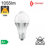 Standard Motion Sensor LED E27 1055lm 2700K