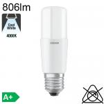 Stick LED E27 806lm 2700K