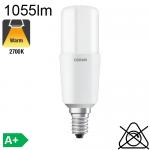 Stick LED E14 1055lm 2700K