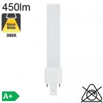 S LED G23 450lm 3000K
