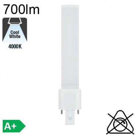 S LED G23 700lm 4000K