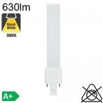 S LED G23 630lm 3000K