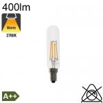 Tube LED E14 400lm 2700°K