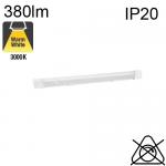 Réglette AVEC Inter et SANS Prise LED 5.5W 380lm 3000K