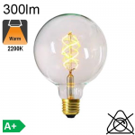 Globe Ø125 Filament Twisted LED Clair E27 300lm 2200K