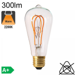 Edison ST64 Twisted LED E27 260lm 2000K