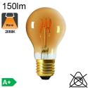 Sphérique Filament Loops LED E14 90lm 2000K Ambrée