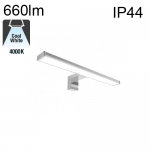 Applique Led SDB IP44 8W 660lm 4000K