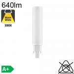 D LED G24-d2 640lm 3000K