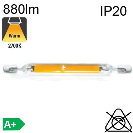 R7S LED 4W 490lm 2700K 78mm