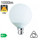 Globe LED Ø95 E27 1000lm 2700K