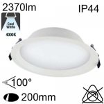 Encastré Led IP20 25W 2340lm 4000K