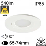 Encastré Led IP65 7W 475lm 3000K
