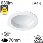 Encastré Led IP44 7W 630lm 3000K