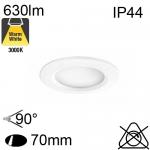 Spot Encastré LED IP44 7W 630lm 3000K
