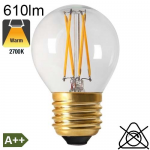 Sphérique LED E27 806lm 2700K