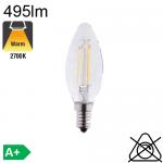 Flamme LED E14 495lm 2700K