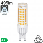 G9 LED 5W 495lm 4000K Dimmable