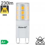 G9 LED 230lm 3000K