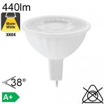 MR16 LED GU5.3 440lm 3000K 38°
